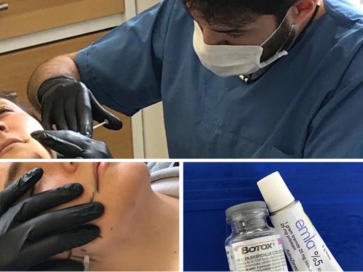 Diş hekimi çene botox uygulaması